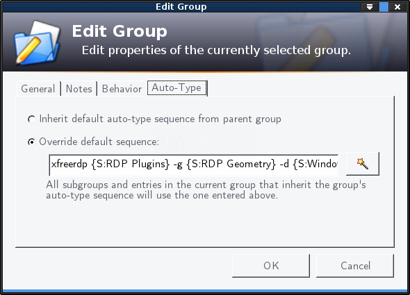 keepass-group-auto-type
